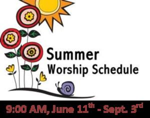 Summer Schedule FP